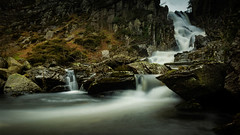 Ogwen Falls in full flow - Explore 070816 (cliveg004) Tags: ogwenfalls ogwenvalley snowdonia wales northwales cascade waterfall falls d5200 nikon 1685mm le longexposure explore explored water rural