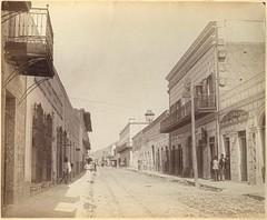 Calle del Comercio, ca1885-1890. (jerodamor@yahoo.com.mx) Tags: mxico nuevolen monterrey