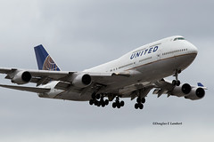ORD 10/3/2015 (Doug Lambert) Tags: n180ua boeing 747400 unitedairlines airline ord kord ohare chicago illinois airport airplane jet aviation midwest