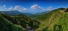 () (szintzhen) Tags: sky cloud mountain taiwan photomerge      taipeicity