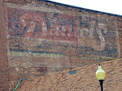 Daniels Ghost Sign, Danville, IL (Robby Virus) Tags: danville illinois daniels ghost sign signage faded wall brick ad advertisement