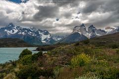 Serie Patagonia (Max Besser Jirkal) Tags: chile patagonia torresdelpaine cielos