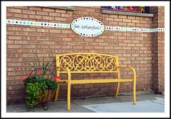 Be Colorful For Bench Monday Today (sjb4photos) Tags: michigan marshallmichigan bench benchmonday hbm