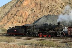 I_B_IMG_8093 (florian_grupp) Tags: asia china steam train railway railroad bayin lanzhou gansu desert landscape loess mountains sy ore mine 282 mikado steamlocomotive locomotive