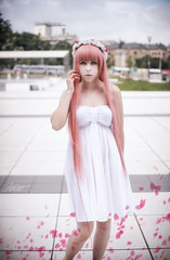 _MG_0147 (pan.fusakla) Tags: megurine luka cosplay justbefriends vocaloid niftyfifty 5018 6d canon pinkhair