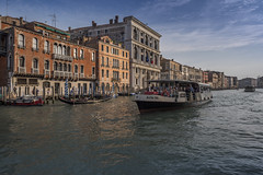 Vaporetto on the Grand Canal