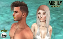 "Aubrey Cosmetics // Summer Collection 2016 for ""Appliqué"" (averydaubrey) Tags: secondlife commercial cosmetics asthetic jeffreestar"