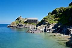 DSCF9090 (douglaswestcott) Tags: summer england english coast seaside cornwall village harbour coastal quaint polperro