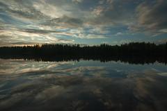 Reflets sur le lac (Samuel Raison) Tags: scenery paysage landscape finlande finland grandangle wideangle nikon nikond3 nikon41635mmafsgvr lake lac reflets reflection mirror miroir nikonpassion
