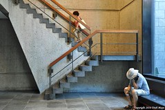 The End Of The Affair (Trish Mayo) Tags: stairs staircase architecture metbreuer metropolitanmuseumofart metmuseum metropolitanmuseum museum