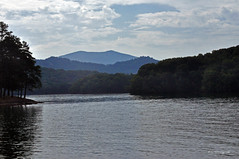 CHATUGE DAM 5 (KayLov) Tags: vacation travel mountains ga georgia camping lake dam chatuge shore island landscape