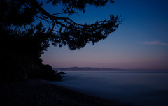 Good morning 2 (densshod) Tags: morning contrast clouds color croatia coast outdoor olympus ocean out longexposure light landscape nd sky summer sun sunlight