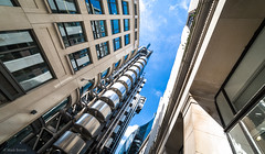 Lloyds Building (mark.brown040873) Tags: sky city street light clouds urban architecture cityscape concrete building london uk england metal streetphotography cityofwestminster