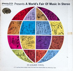 A World's Fair of Music in Stereo (dnskct) Tags: wah werehere hereios music color colours poetry worldsfair philco fordmotorcompany lp vinyl goldvinyl july272016