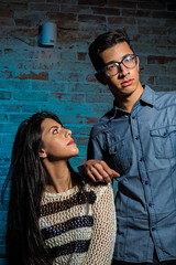 (felipepmattos) Tags: model models studio photo shooting essay people curitiba brazil escola portfolio color couple back light