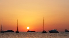 Sunset in Formentera, Beso Beach (Pigeon Little Duck) Tags: sunset puestadesol formentera besobeach beach