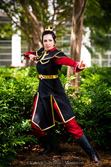 SP_44605 (Patcave) Tags: momocon momocon2016 2016 convention cosplay costumes cosplayers portrait shoot shot canon 1740mm f4 sigma 85mm f14 lens patcave 5d3 atlanta georgia world congress center outdoors hot humid avatar avatarthelastairbender airbender last azula firebender firenation