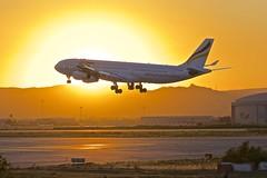 BCN/LEBL: PlusUltra Airbus A343 EC-MFB (Roland C.) Tags: airport barcelona elprat bcn lebl airbus a340 a340300