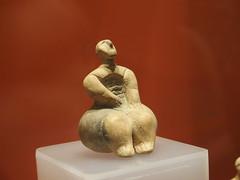 Female figure I (rgrant_97) Tags: figurines statuettes neolithic ancient musem gozo malta ggigantija