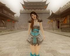 LOOK: DYNASTY WARRIOR (kokonattsu.kyandi) Tags: chinese asian secondlife second life warrior dynasty china village anime armor lanterns games gaming