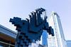 Digital Orca (scottboms) Tags: vancouver travel digitalorca douglascoupland art pixels sculpture installation outdoors waterfront