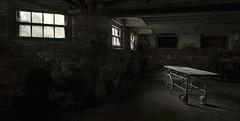 Westborough State Hospital (Demolished) (Jonnie Lynn Lace) Tags: abandoned abandonedamerica abandonedma ruins modernruins derelict decay decayed decaying hospitaltunnels chasinglight gurney peelingpaint paintchips jonnielace haikyo 廃墟 abandoné abandonne exploration opuszczone mood urbex