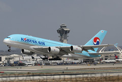 HL7628 (SoCalSpotters) Tags: socalspotters lax klax kal a380 a388 airbusa380 koreanair losangeles