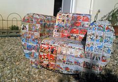 Projet 365-3 - 005/365 (Supernico26) Tags: fauteuil carton club enfant