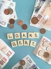 Loans and Debt (Jonathan Rolande) Tags: money notes image great free cash ten british sterling changes pound interest twenty coppers rates apr pounds percentage debt 10 20 loans debts freeimage