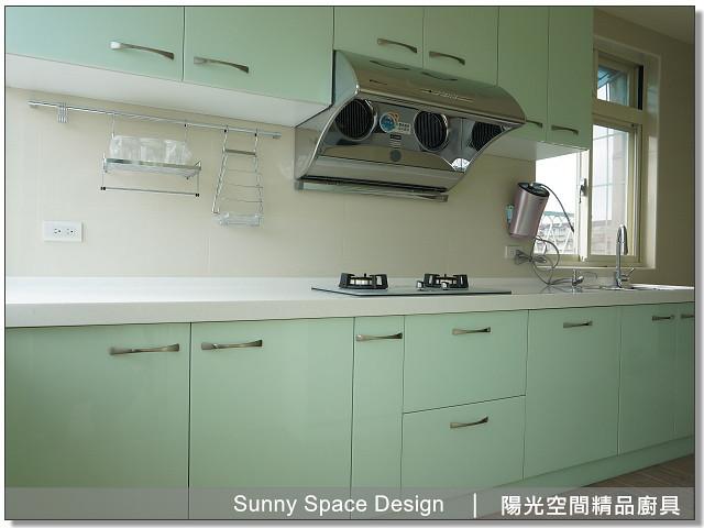 廚具│廚具大王│陽光廚具-作品249-二字型廚具-陽光空間精品廚具
