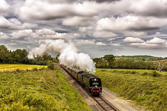 GWR_2015_05_23__167 (Phil_the_photter) Tags: festival 6960 wells winchcombe western warwickshire gwr wadebridge  2807 great hall city 5542 7820 west dinmore 34007 34092 speed loco didbrook railway engine dixton chicken steam abbey gwsr steam manor curve wells gloucester cotswold hailes raveningham
