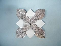 Acid Base Hydrangea - Shuzo Fujimoto / Meenakshi Mukerji (Rui.Roda) Tags: origami acid hydrangea base tessellation papiroflexia fujimoto meenakshi mukerji shuzo tecelagem papierfalten