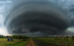 Mothership (Mike Mezeul II Photography) Tags: sky storm weather clouds crazy texas thunderstorm tornado epic mothership supercell