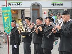Marching band musicians, Ljubljana, Slovenia (Paul McClure DC) Tags: people slovenia ljubljana slovenija may2015