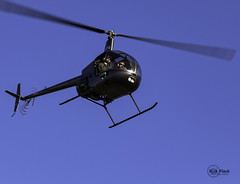 R-22 Landing (Rick Flack Photography) Tags: oregon airport helicopter troutdale ttd robinsonr22