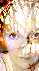 'SHE' MAY BE THE REASON I SURVIVE (poppycocqu) Tags: she family portrait selfportrait art love me face self artwork eyes friend poetry poem friendship quote expression retrato surrealism creative surreal orphan creation ap poppy poet surrealist surrealistic survival understanding survivor quotation elviscostello selfie introspective introspection prose isabelallende instincts survivalinstincts appoppy poppycocqu shemaybethereasonisurvive sometimesifeeltheorphaninmestillremains
