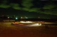 Waaslandhaven, Beveren, OVL (Jickatrap) Tags: longexposure film night analog 35mm pentax suburbia  kodakgold pentaxmz50  filmphotography gold200 beveren     newtopographics    photographersontumblr