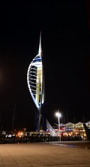 SPINNAKER TOWER @ PORTSMOUTH (dale hartrick) Tags: tower nikon portsmouth spinnakertower spinnaker d800 vertorama nikond800