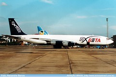 Beta Cargo - PP-BRG (Aviacaobrasil) Tags: betacargo boeing707 alexandrebarros