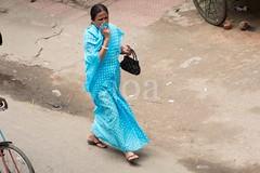 H504_3487 (bandashing) Tags: street blue england female manchester pavement walk sari sylhet bangladesh socialdocumentary aoa bandashing akhtarowaisahmed