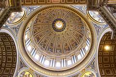 Cupola San Pietro - Saint Peter's dome (Persephone_Grey) Tags: cupoladisanpietro michelangelo buonarroti sanpietro dome saintpeter cupola roma rome vaticano italia italy