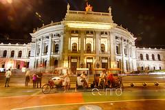 IMG_9195_HDRweb (sabine_in_singapore) Tags: wien vienna travel hofburgtheather night