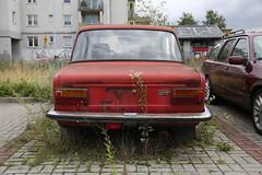 Langparkeerder (Maurits van den Toorn) Tags: auto pkw car fiat polskifiat 125p lodz polen poland oldtimer abandoned