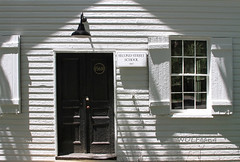 One-Room Schoolhouse (karl.wolfgang (Moved to Virginia)) Tags: virginia history school architecture light texture waterford town rural