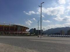 inside the Olympic Park