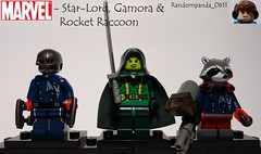 Star-Lord, Gamora & Rocket Raccoon (Random_Panda) Tags: comics star book comic lego fig character books super lord galaxy hero figure superhero characters rocket heroes minifig minifigs raccoon superheroes marvel figures figs guardians minifigure the minifigures gamora of starlord guardiansofthegalaxy