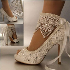 DIY Lace Shoes Tutorial (ezo-handmade) Tags: