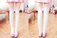 kiiseu: Cat pantyhose | discount code: lovely39 Estn sper... (virginpeachlife) Tags: virgin peach sexy feet fetish body girl toenail toes shoes dress pantys