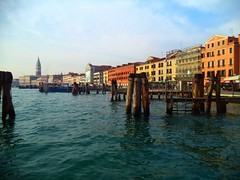 Venezia (Andrea Rodrguez Palma) Tags: city italy color water colors rio river landscape photography agua europa europe italia navy venecia venezia fotografa
