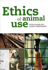 Peter Sande e Stine B. Christiansen, Ethics of animal use (bibliofilosofiamilano) Tags: etica dirittianimali copertina